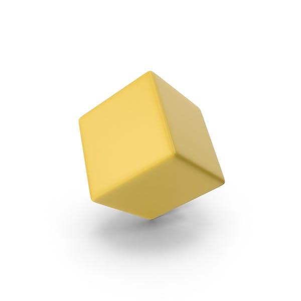 Gelber Würfel