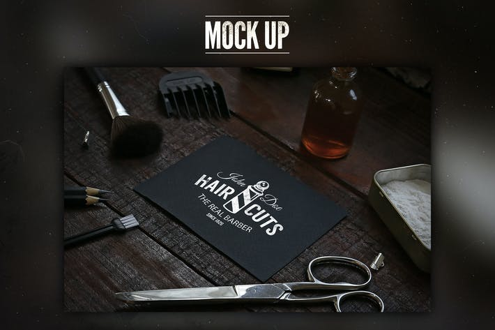 Thumbnail for Barbershop Mock Up