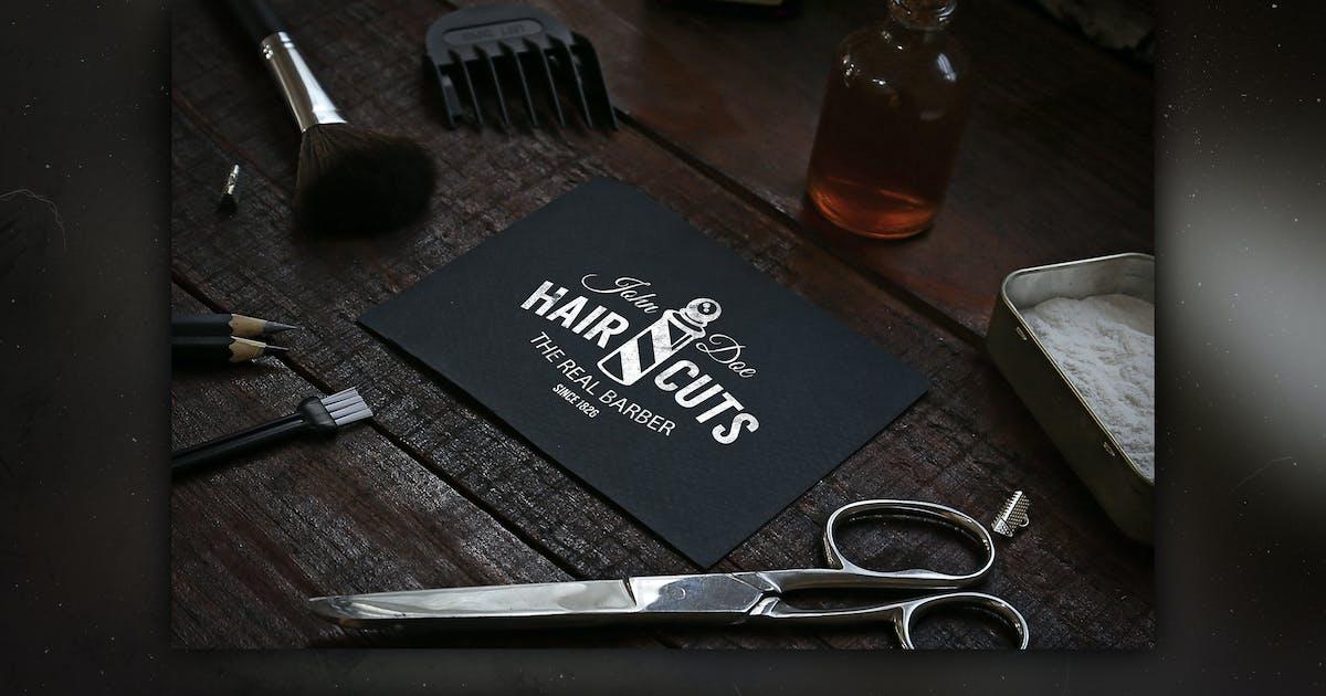 Download Barbershop Mock Up by RetroBox