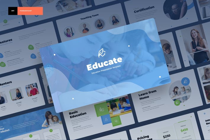 Thumbnail for Educate - Education Power Point Presentation