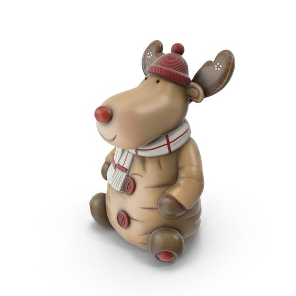 Thumbnail for Reindeer Figure