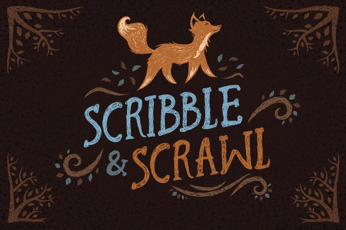 Cover Image For Scribble & Scrawl Brushes
