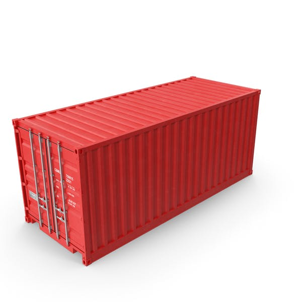 Thumbnail for Red Shipping Container