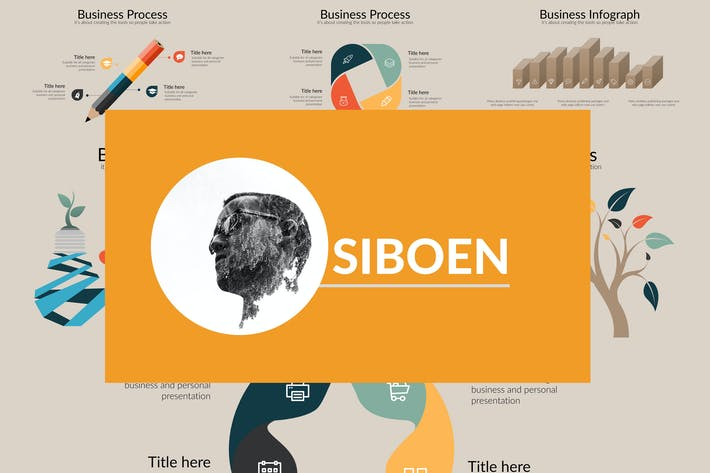 SIBOEN Powerpoint Template
