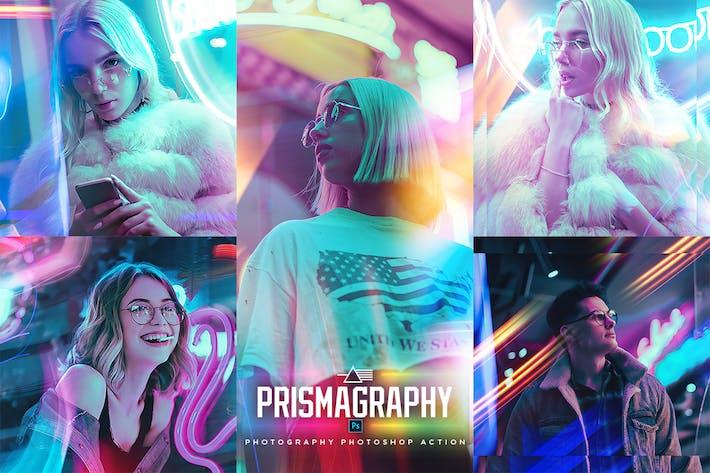 Thumbnail for Призмаграфия Photoshop Action