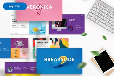 Veronica – Creative Business Keynote Template