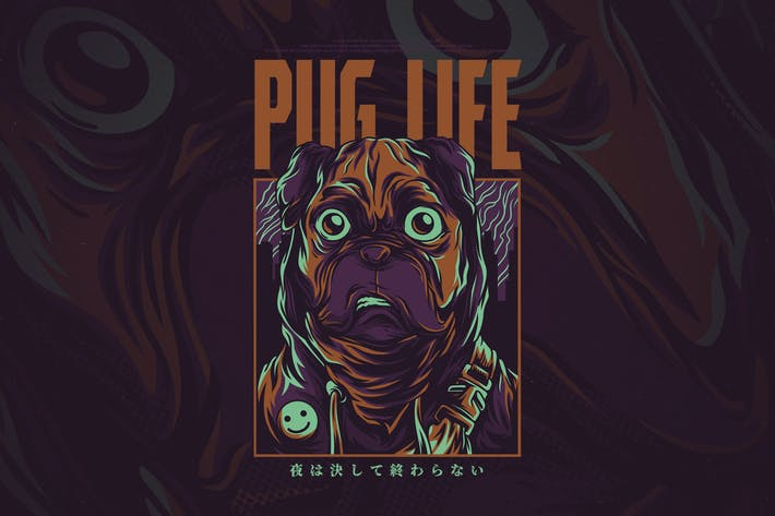 Cover Image For Pug Life
