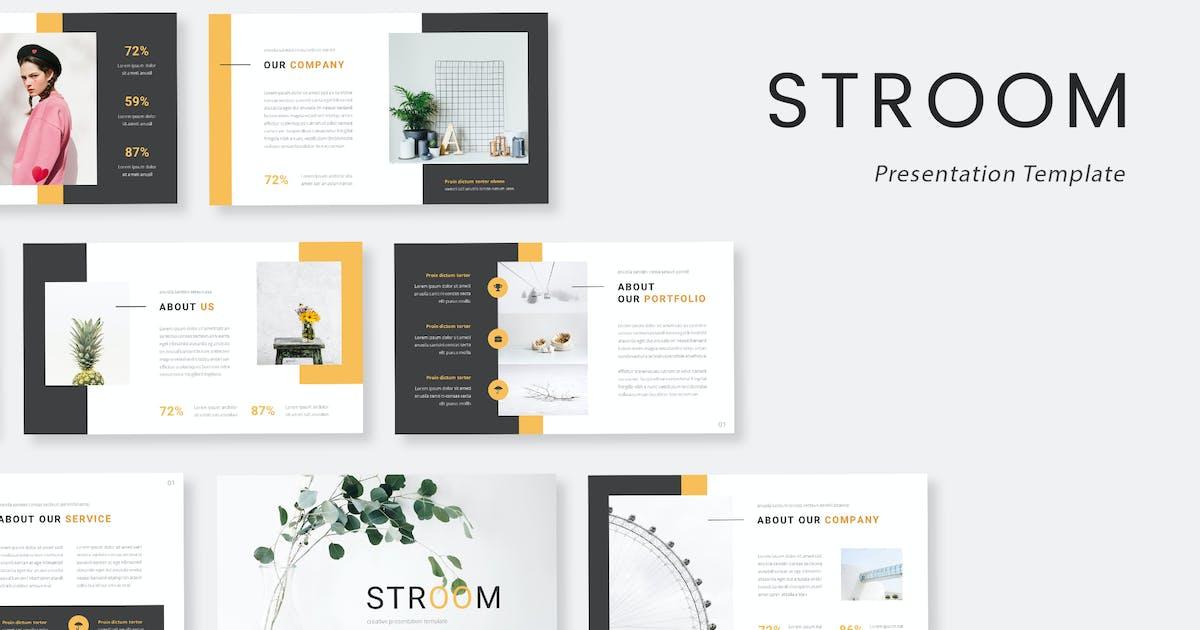 Download Stroom - Creative Keynote Presentation Template by naulicrea