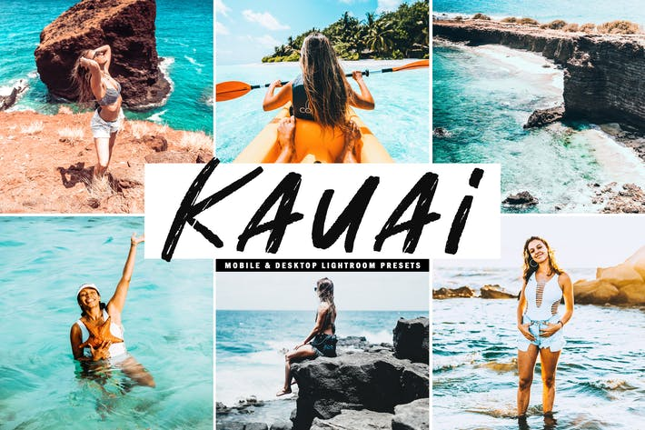Thumbnail for Kauai Mobile & Desktop Lightroom Presets