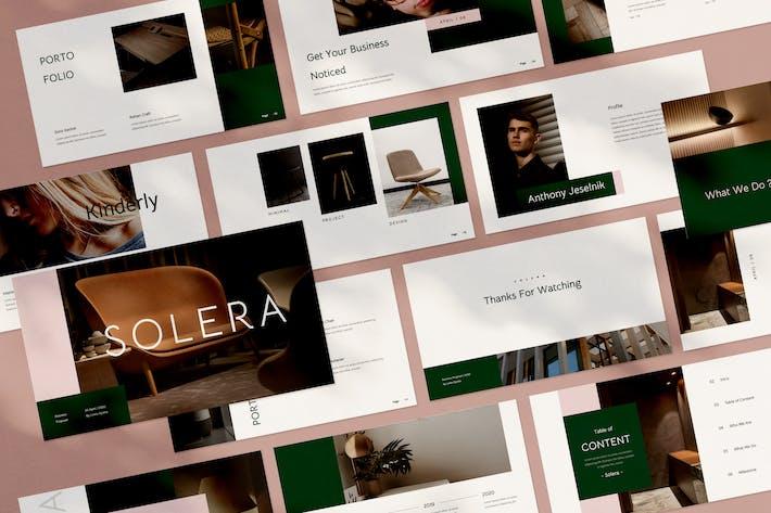 Thumbnail for Solera Google Slides