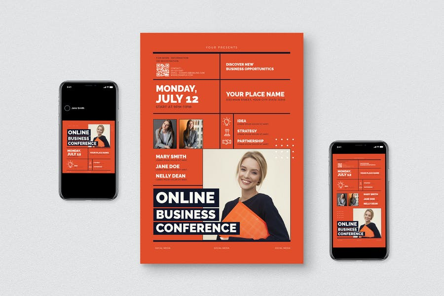 Online Business Flyer Pack