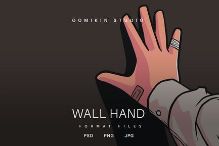 Wand-Hand-Abbildung