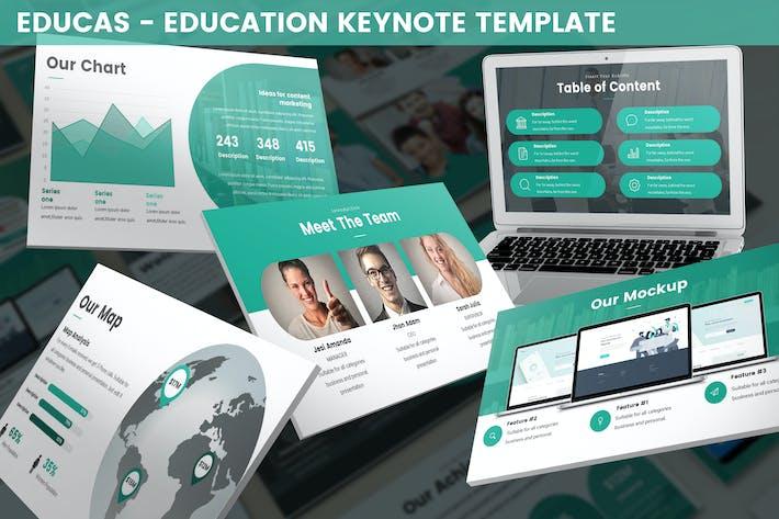 Thumbnail for Educas - Education Keynote Template