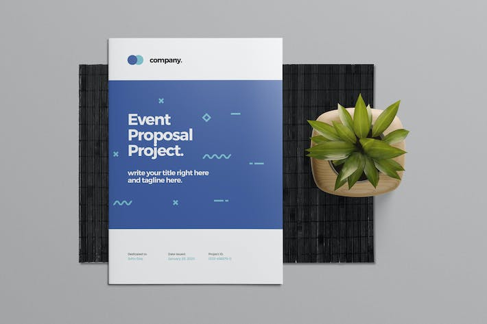 Thumbnail for Event Brief Proposal Template