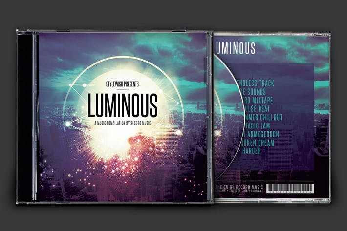 Thumbnail for Luminous CD Cover Artwork