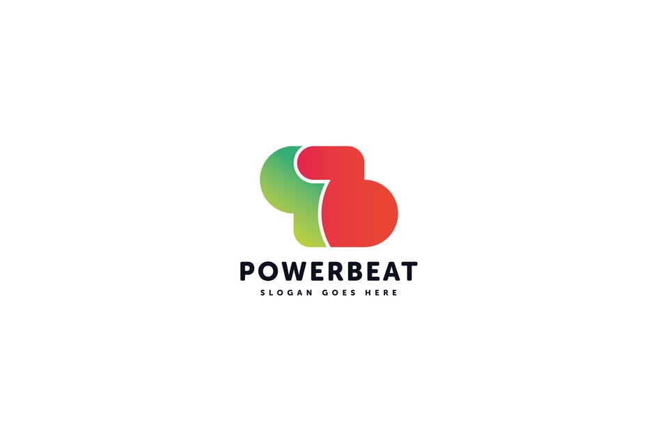 Download Power Beat Logo Template by Pixasquare