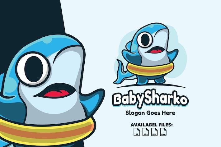 Thumbnail for Babysharko - Logo Mascot