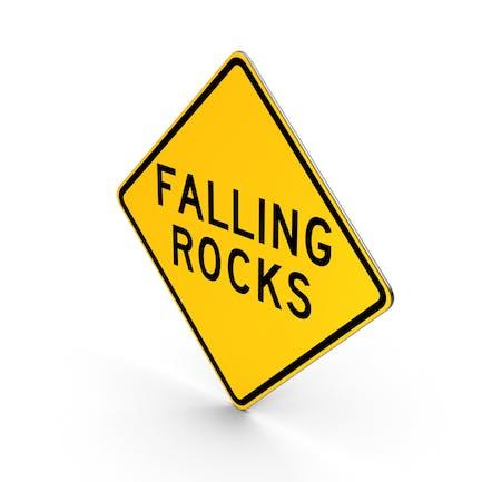 Falling Rocks Pennsylvania Hawaii Road Sign