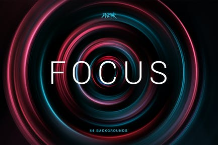 Focus | Colorful Zoom Backgrounds