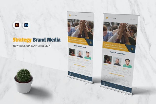 Strategy Brand Media Rollup Banner