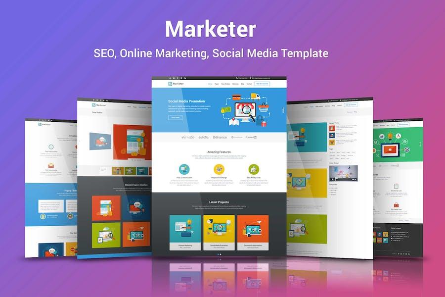 Marketer - SEO, Online Marketing, Social Media