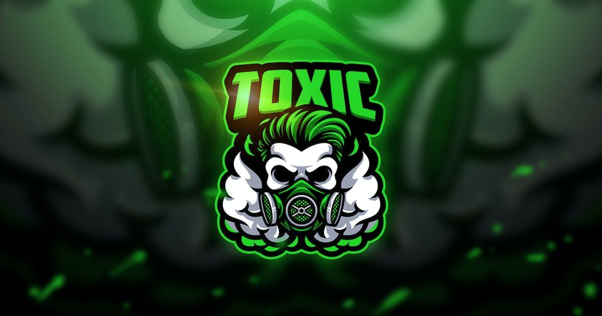 Download Toxic skull - Mascot & Esport Logo by aqrstudio