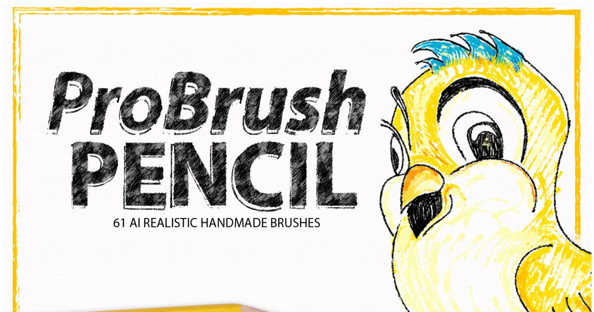 Download Pencil ProBrush by LeoSupply