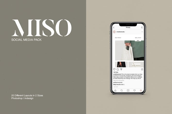 Cover Image For Miso Social Media Pack