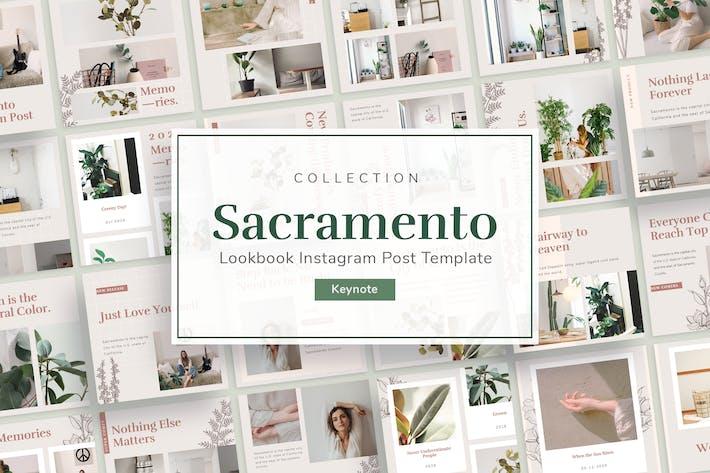Cover Image For Sacramento - Instagram Post Plantilla Keynote