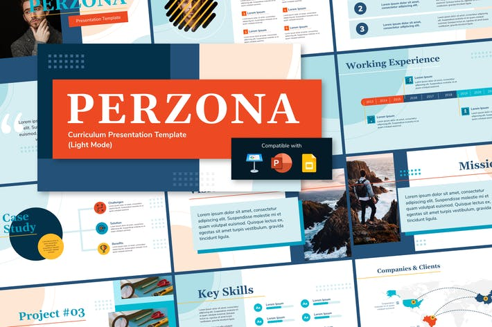 Thumbnail for PERZONA (LIGHT) - Curriculum Vitae Presentation