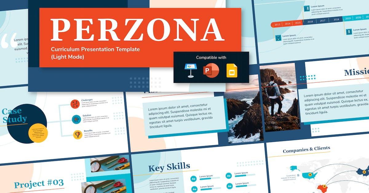 Download PERZONA (LIGHT) - Curriculum Vitae Presentation by inipagi