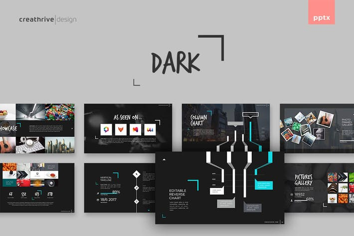 Thumbnail for Dark PowerPoint