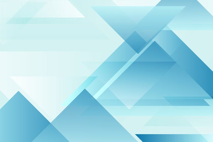 Thumbnail for Abstract blue geometric triangles background