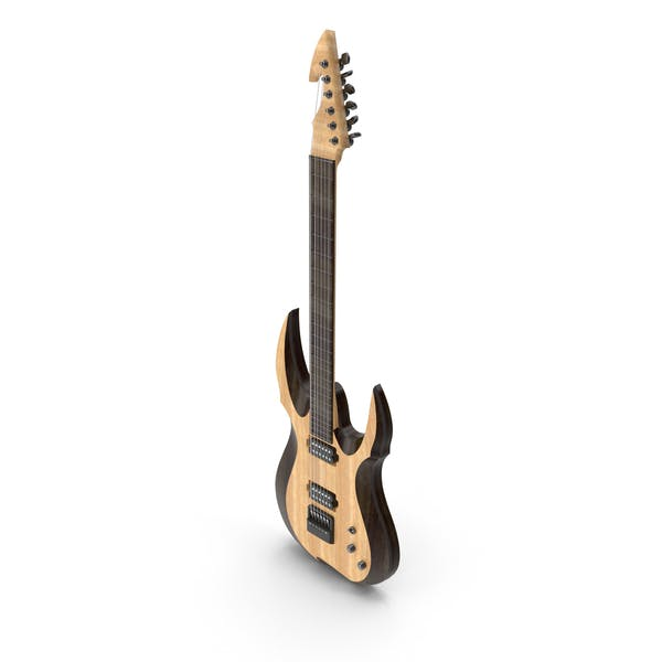 Electric Guitar Standing Up