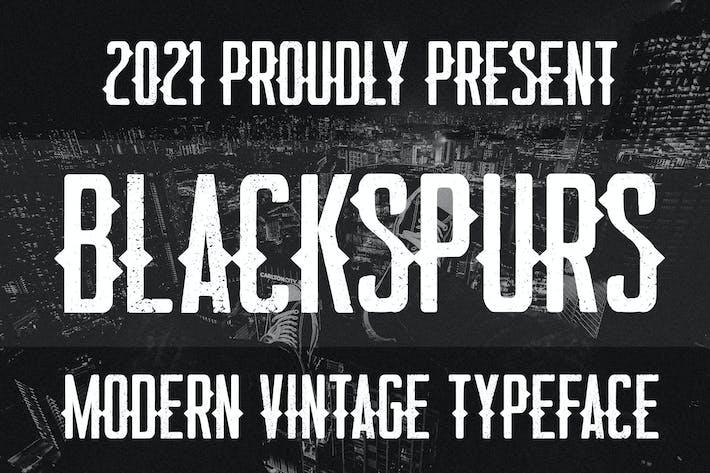 Blackspurs Police Vintage