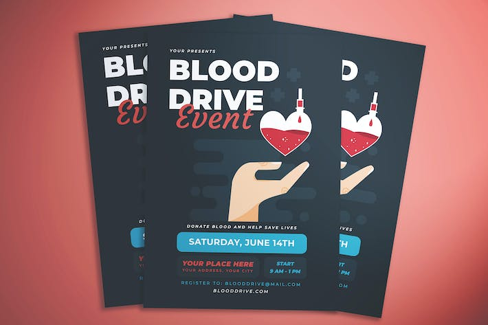 Blood Donor Flyer