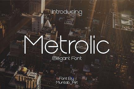 Metrolic | Fuente elegante