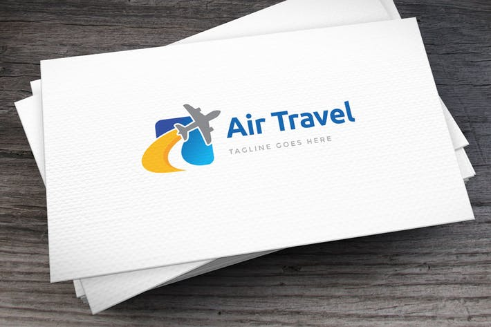 Thumbnail for Air Travel Logo Template