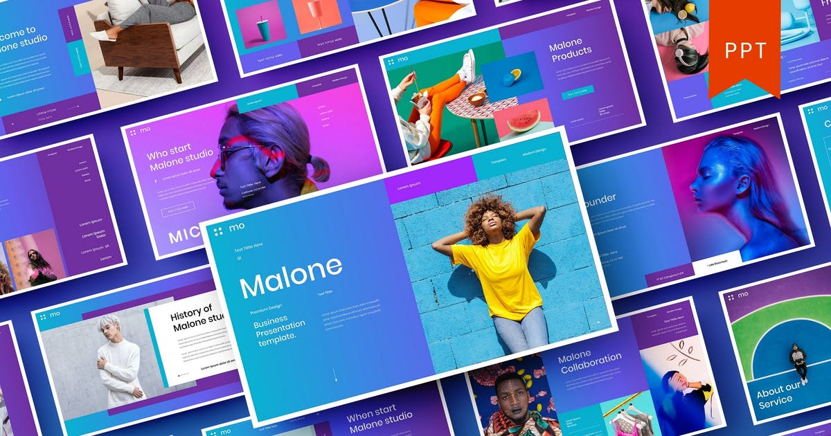 Download Malone – Business PowerPoint Template by DensCreativeStudio