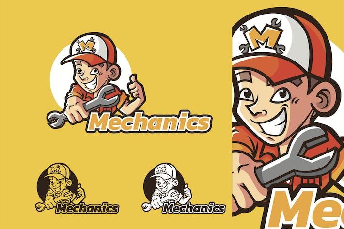Thumbnail for Mechanik - Maskottchen & Esport Logo