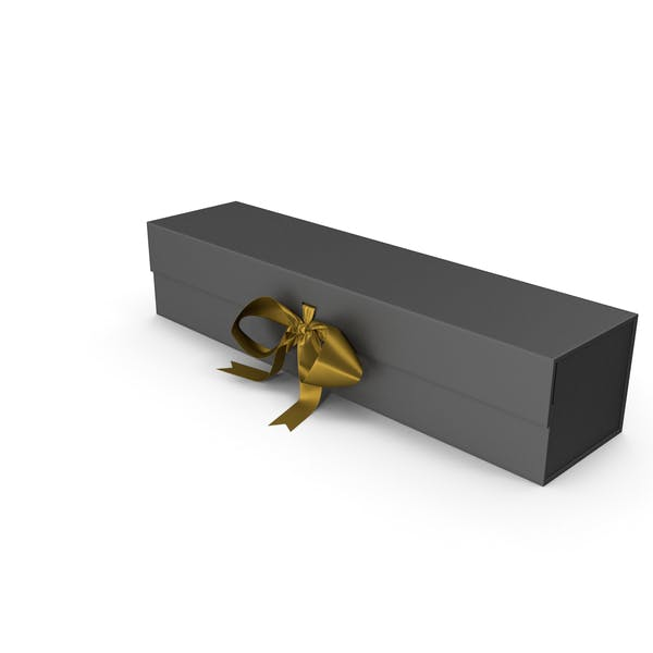 Thumbnail for Black Box with Gold Ribbon