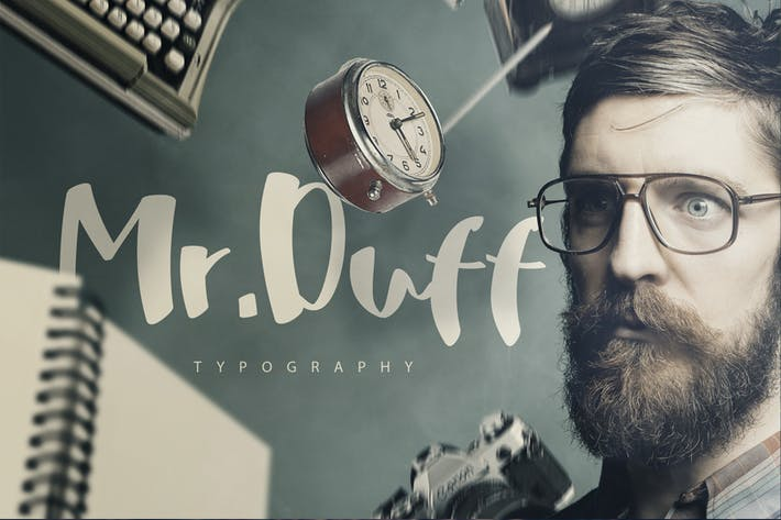 Thumbnail for Mr. Duff Typeface