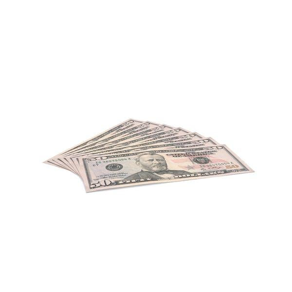 US 50 Dollar Bill