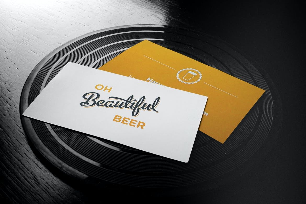 Business-Cards-|-Flyer-|-Logo-Mock-Up