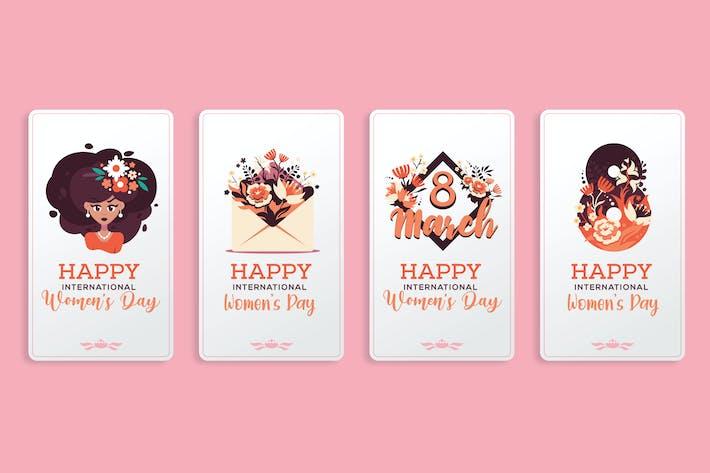 Tarjetas de felicitación del Día Internacional de la Mujer