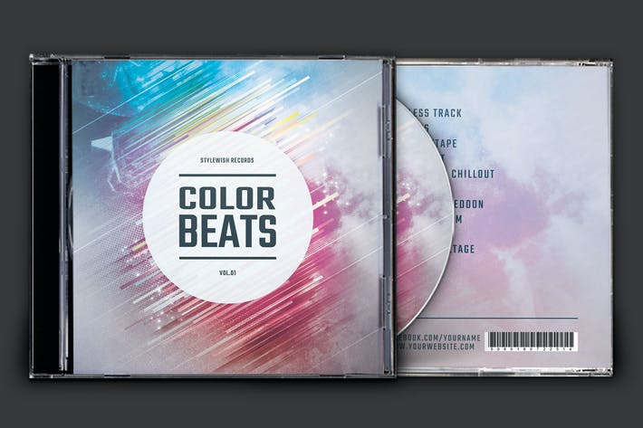Thumbnail for Color Beats CD Cover Artwork