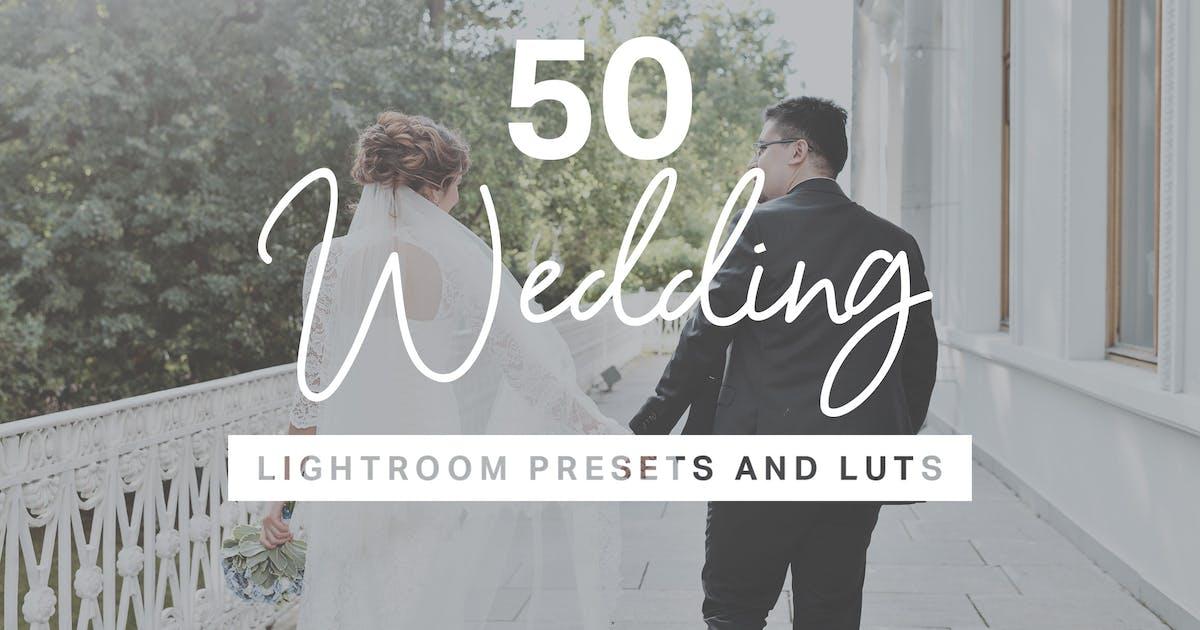 Download 50 Wedding Lightroom Desktop and Mobile Presets by sparklestock