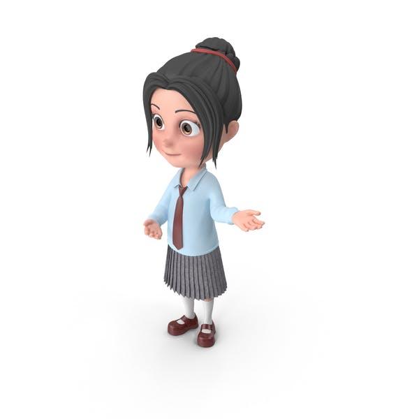 Cartoon Girl Emma Showcase