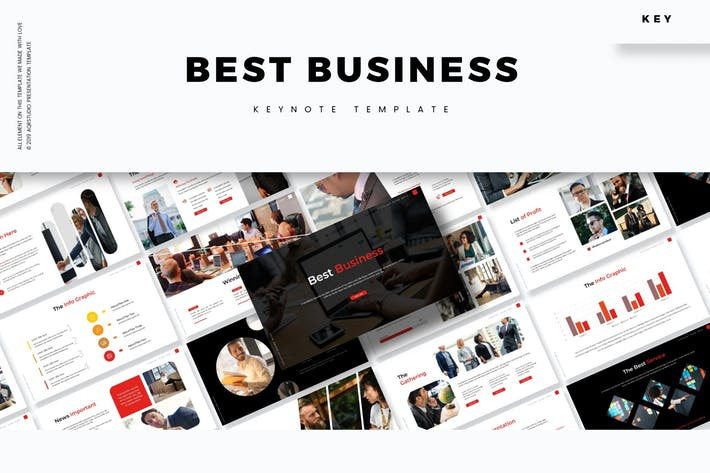 Thumbnail for Best Business - Keynote Template