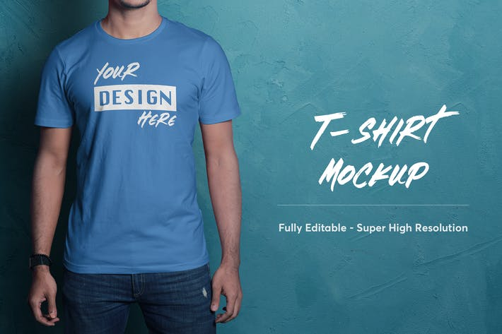 Thumbnail for T-Shirt Mockup 3.0